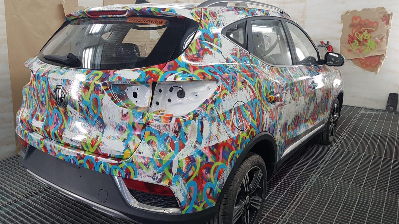 The MG Art Car