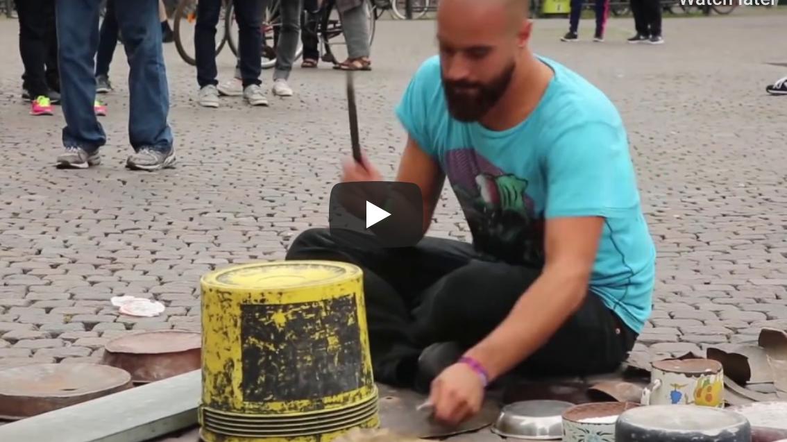 Amazing Techno Drummer